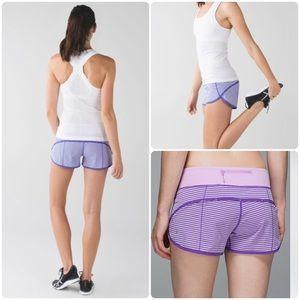 Lululemon Speed Up Shorts, Size 6